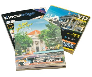 three gainesville area phone books