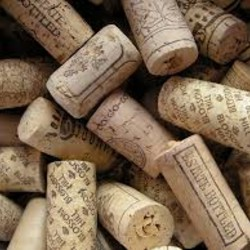 various wine corks stack in a pile