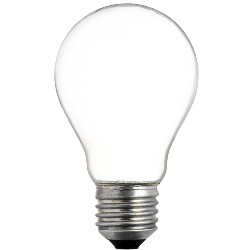 old incandescent light bulb