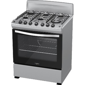 stainless steel metal gas stove