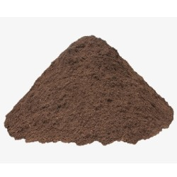 pile of dark brown dirt