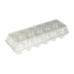 clear plastic egg carton