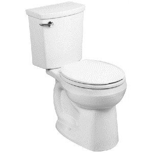 white porcelain toilet